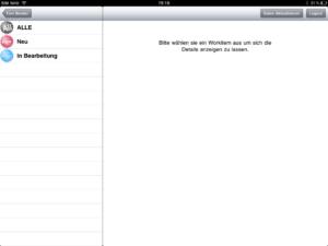 Filter der App