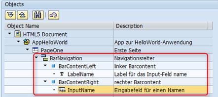 SAP UI5 Tutorial - Aufbau