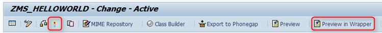 SAP UI5 Tutorial - aktivieren und testen