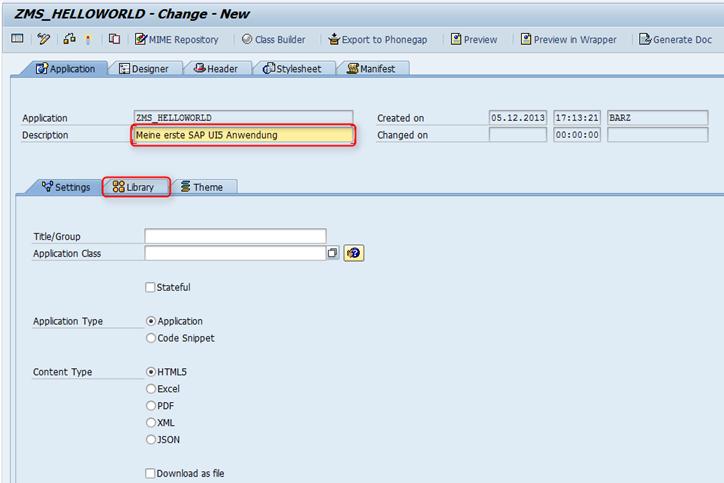 SAP UI5 Tutorial - Eigenschaften