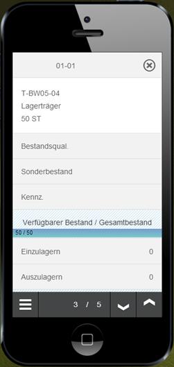 SAP WM App Info - Quantdetails