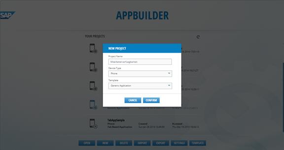 SAP AppBuilder für UI5 - erste Schritte1
