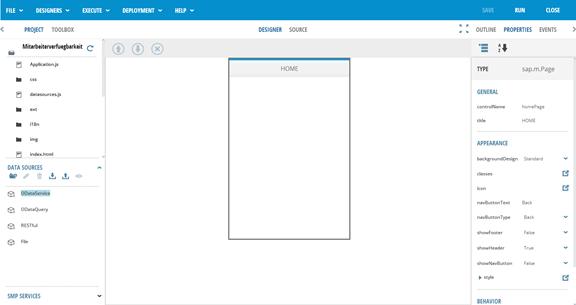 SAP AppBuilder für UI5 - erste Schritte2
