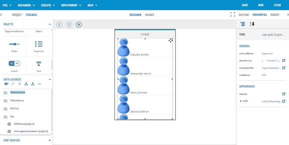 SAP AppBuilder für UI5 - erste Schritte24