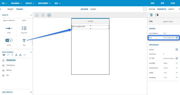 SAP AppBuilder für UI5 - erste Schritte4