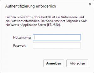 SAP Gateway Service - Authentifizierung
