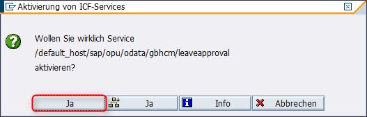 Aktivieren Service Leaveapproval2