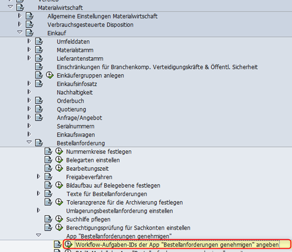 Workflow ID zuordnen