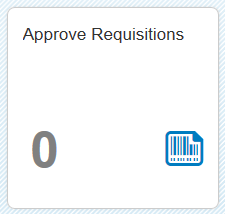 Approve Requisitions