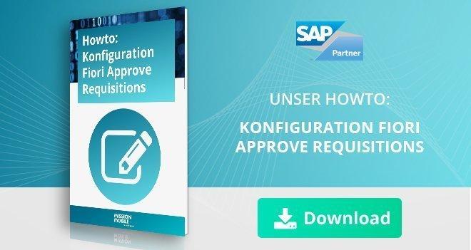 Expertiseseite_konfiguration Fiori Approve Requisition