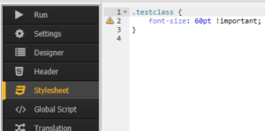 Schriftgröße in SAPUI5 anpassen - !Important