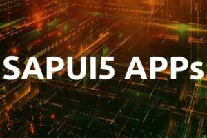 SAPUI5 App