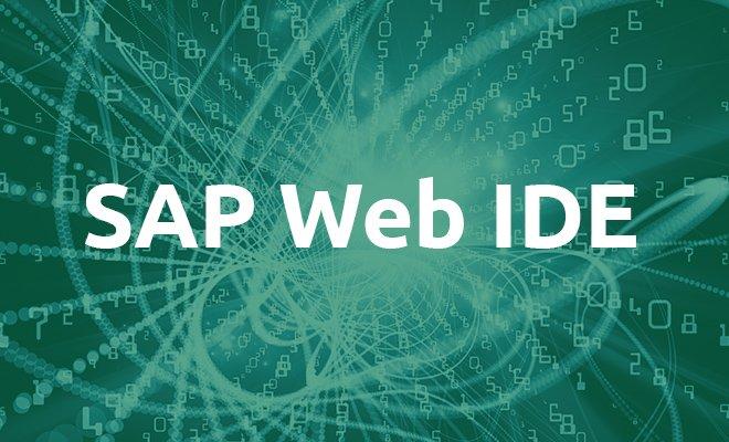 River RDE zur SAP Web IDE