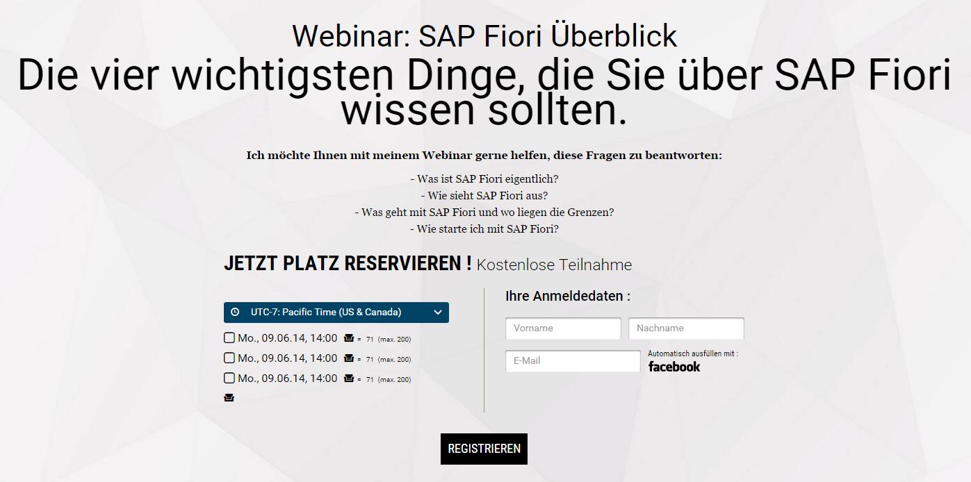 SAP Fiori Überblick