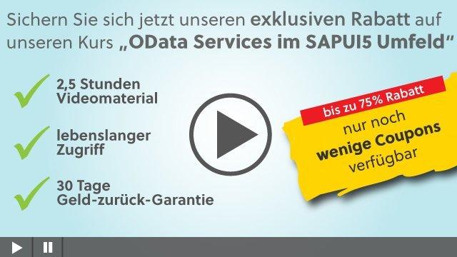 OData Services im SAPUI5 Umfeld