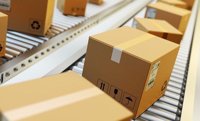 Paketauslieferung DHL Hermes und Co