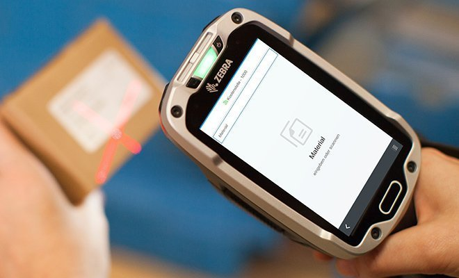 Scanner Hardware für Logistik