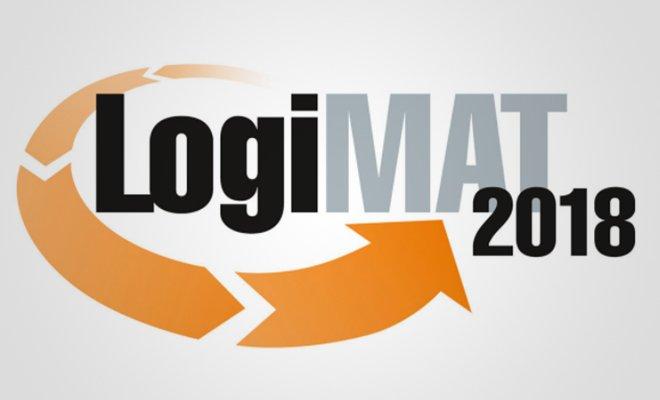 Schriftzug LogiMAT 2018