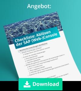 Whitepaper-Minze_SAP Web Console ablösen