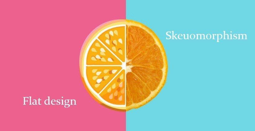 Skeudomorphic, Flat oder Material Design im App Design