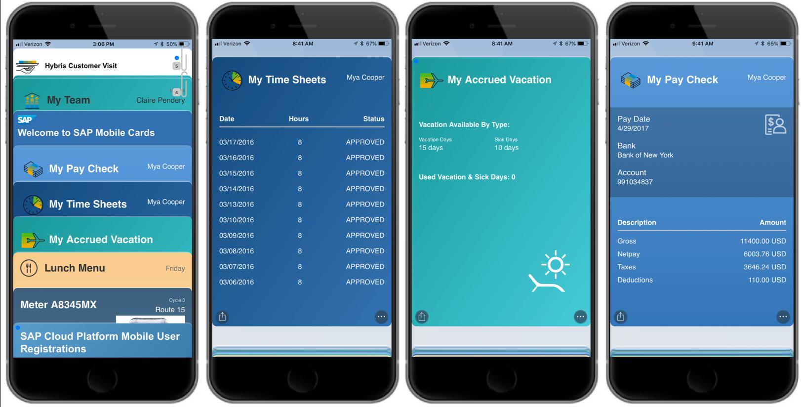 Fiori Apps mobil nutzen