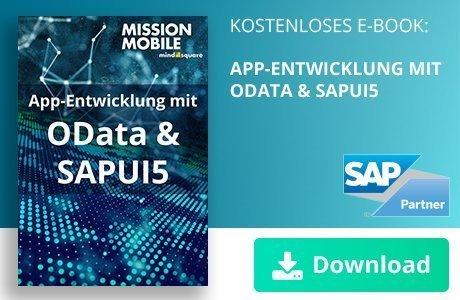 Unser E-Book zum Thema App-Entwicklung mit OData und SAPUI5