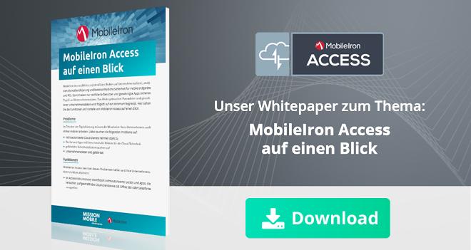 MobileIron Access auf einen Blick