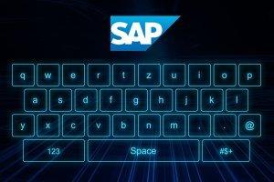 SAP Fiori virtuelles Keyboard