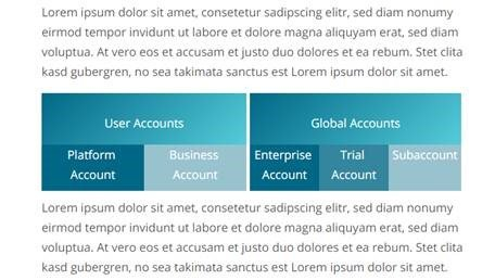 SAP Cloud Platform - Arten von Accounts