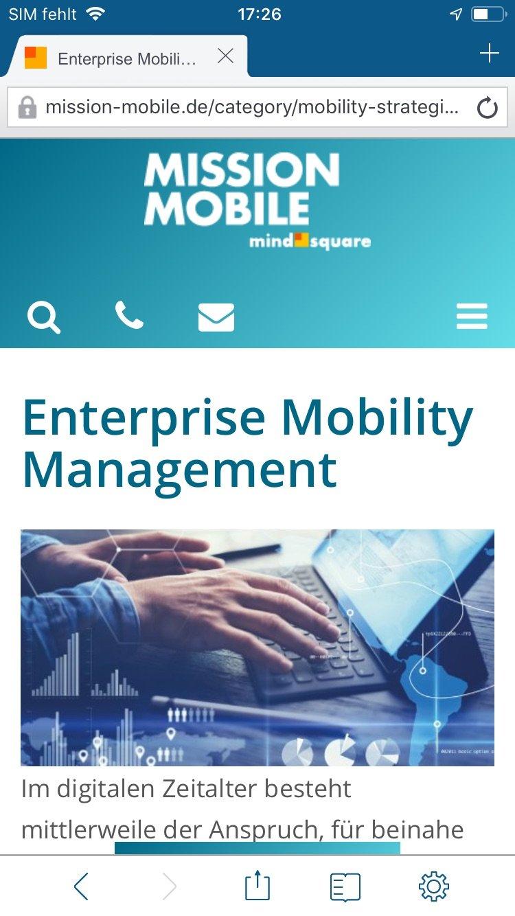Web@Work Screenshot