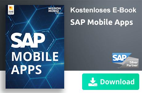 Unser E-Book zum Thema SAP Mobile Apps