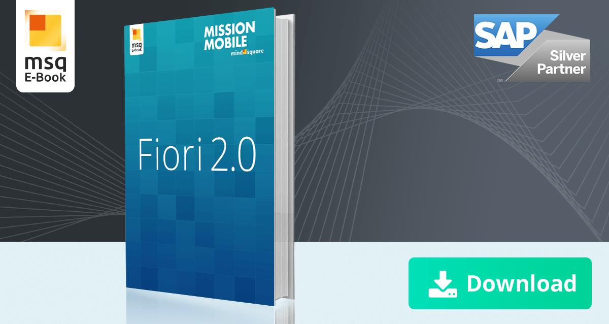 Unser E-Book zum Thema SAP Fiori 2.0