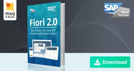 Unser E-Book zum Thema Fiori 2.0