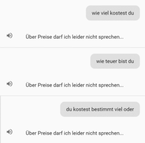 Chatbot auf der SAP Cloud Plattform