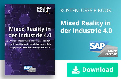 Unser E-Book zum Thema Mixed Reality in der Industrie 4.0
