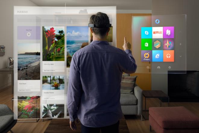Die Möglichkeiten der Microsoft HoloLens
