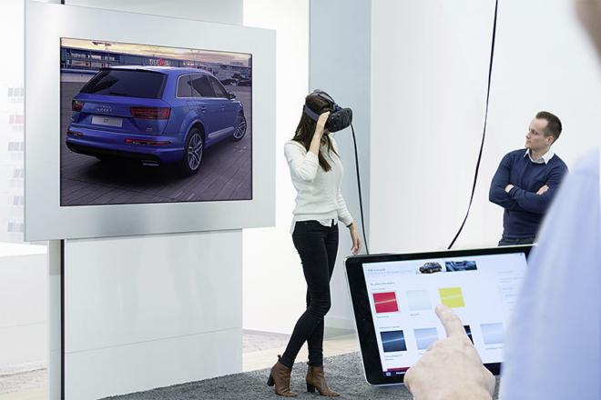 Virtuelle Produktpräsentation
