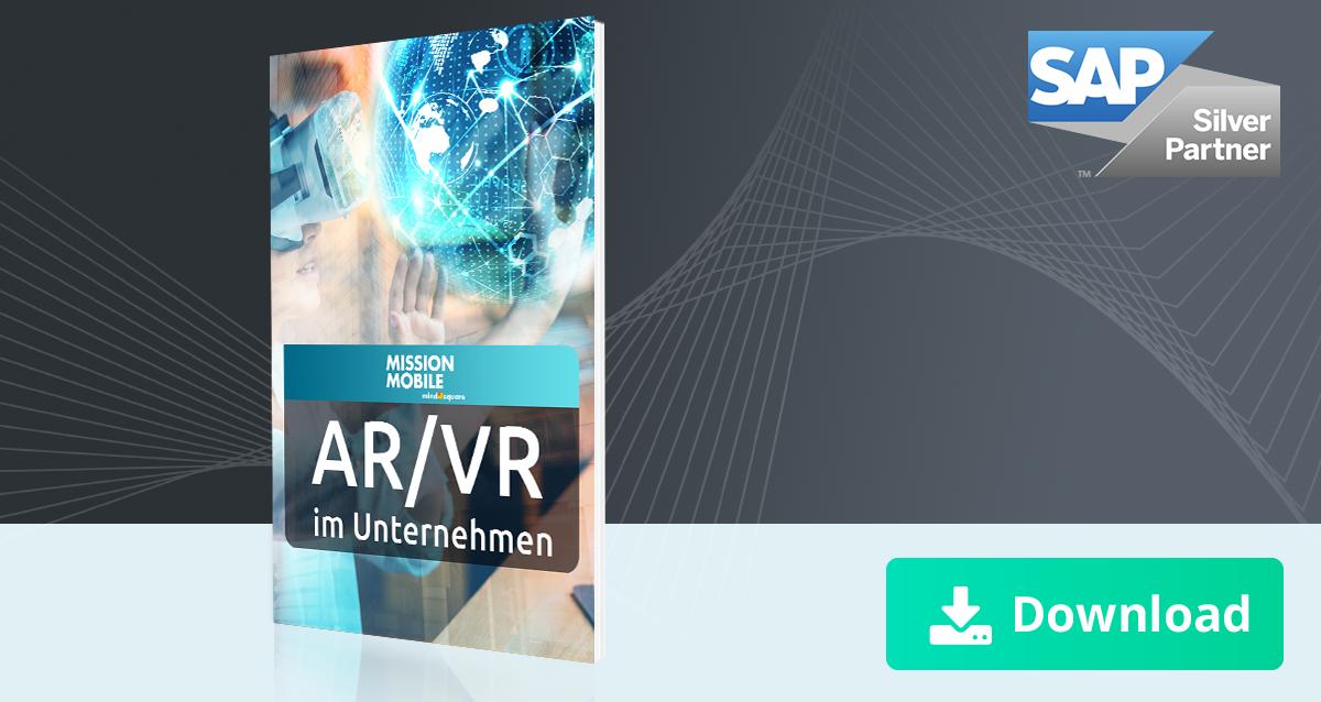 Unser Whitepaper zum Thema AR/VR im Unternehmenskontext